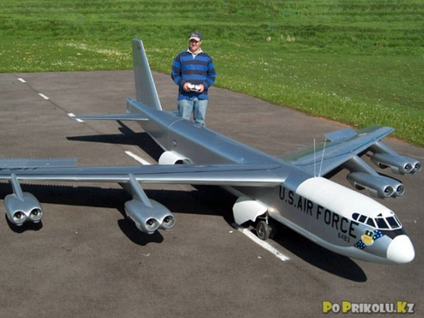 Как сделать мощный самолет